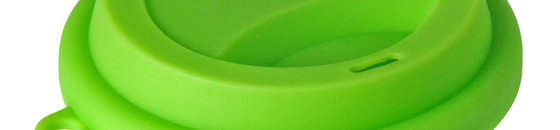 Opvouwbare Beker met deksel Siliconen