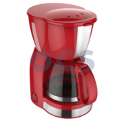 Via Mondo Via Mondo koffiezetapparaat Vrolijk Rood 230V | 550W