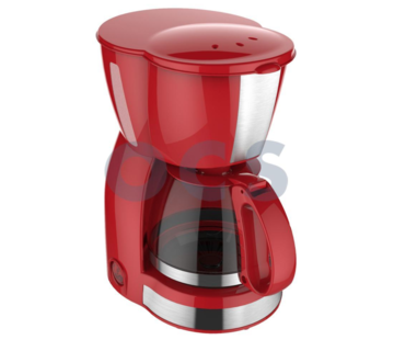 Via Mondo Via Mondo koffiezetapparaat Vrolijk Rood [4-6 Kops] 230V | 550W