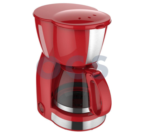 Via Mondo Koffiezet apparaat Vrolijk Rood 4-6 Kops - 230V | 550W