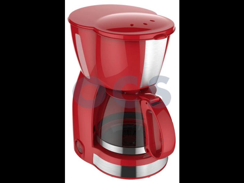 Koffiezet apparaat Vrolijk Rood 4-6 Kops - 230V   550W