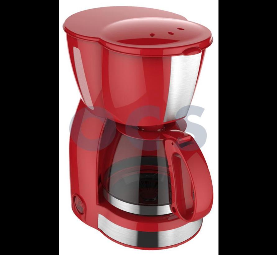 Koffiezet apparaat Vrolijk Rood 4-6 Kops - 230V | 550W