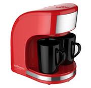 Via Mondo koffiezetapparaat Vrolijk Rood 2 Kops - 230V | 450W