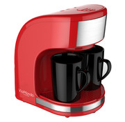 Via Mondo Via Mondo koffiezetapparaat Vrolijk Rood [2 Kops] - 230V | 450W