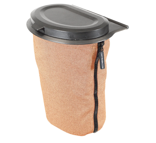 Flextrash Flextrash Afvalbak 3 liter [S] - Kvadrat Orange [Excl]