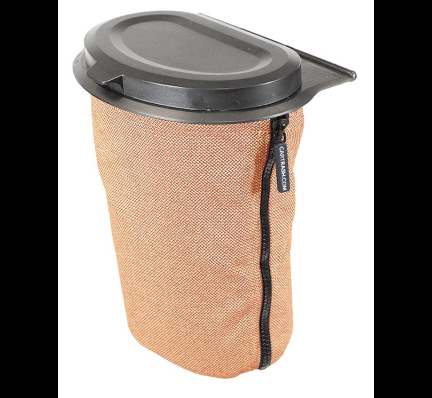 Flextrash Afvalbak 3 liter [S] - Kvadrat Orange [Excl]