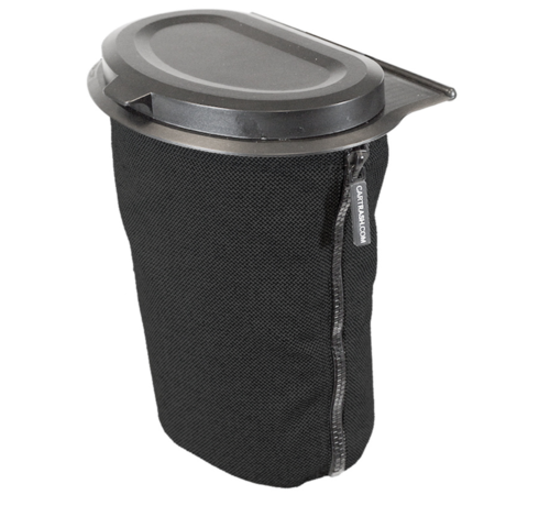 Flextrash Flextrash Afvalbak 3 liter [S] - Zwart [Incl clips]