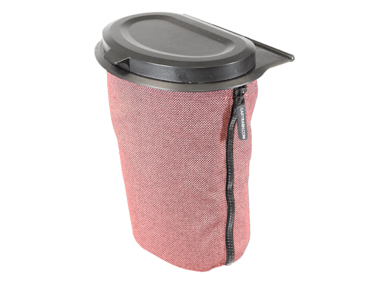Allround Flextrash Afvalbak 3 liter ( S ) Rosy Red ( is een fraaie licht roze kleur )