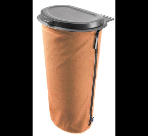 Flextrash Flextrash Afvalbak 9 liter ( L ) Awesome Orange