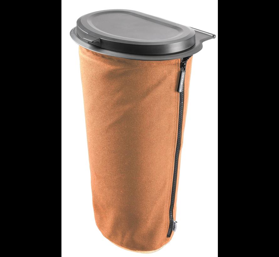 Flextrash Afvalbak 9 liter ( L ) Awesome Orange