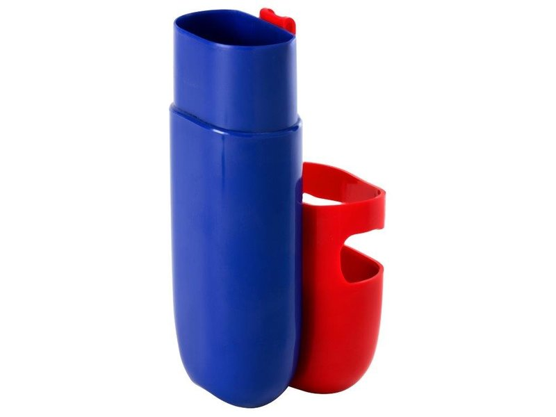 Kleur Potloden Koker - Zeer praktisch - Kleur Rood / Blauw  - 1 + 1 GRATIS