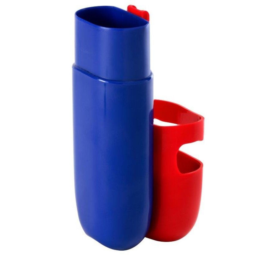 Kleur Potloden Koker Rood / Blauw