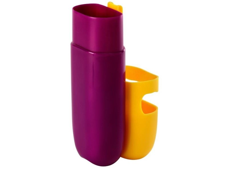 Kleur Potloden Koker - Zeer praktisch - Kleur Geel / Paars  - 1 + 1 GRATIS