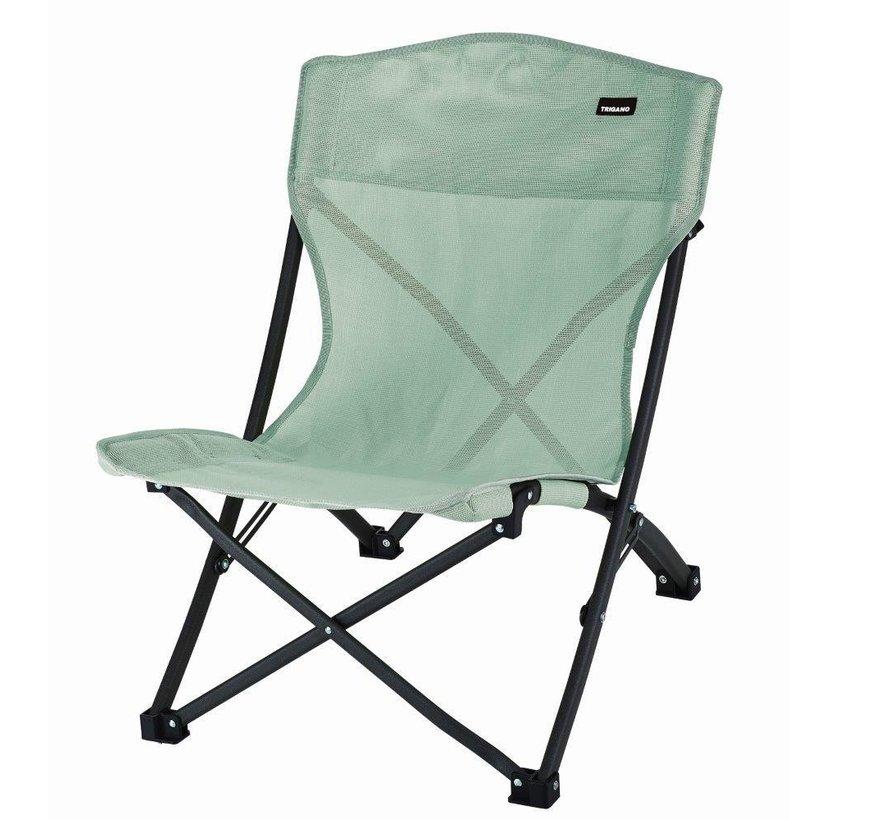 Trigano strandstoel met draagzak Groen