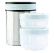 Laken Food container 1 L / 2 leakproof