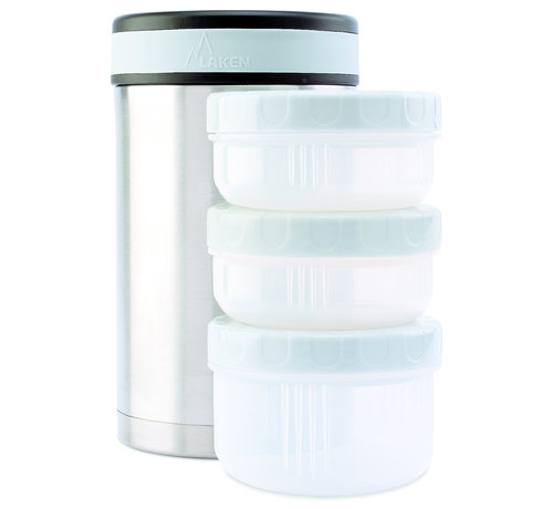 Laken Food container 1,5 L / 3 leakproof