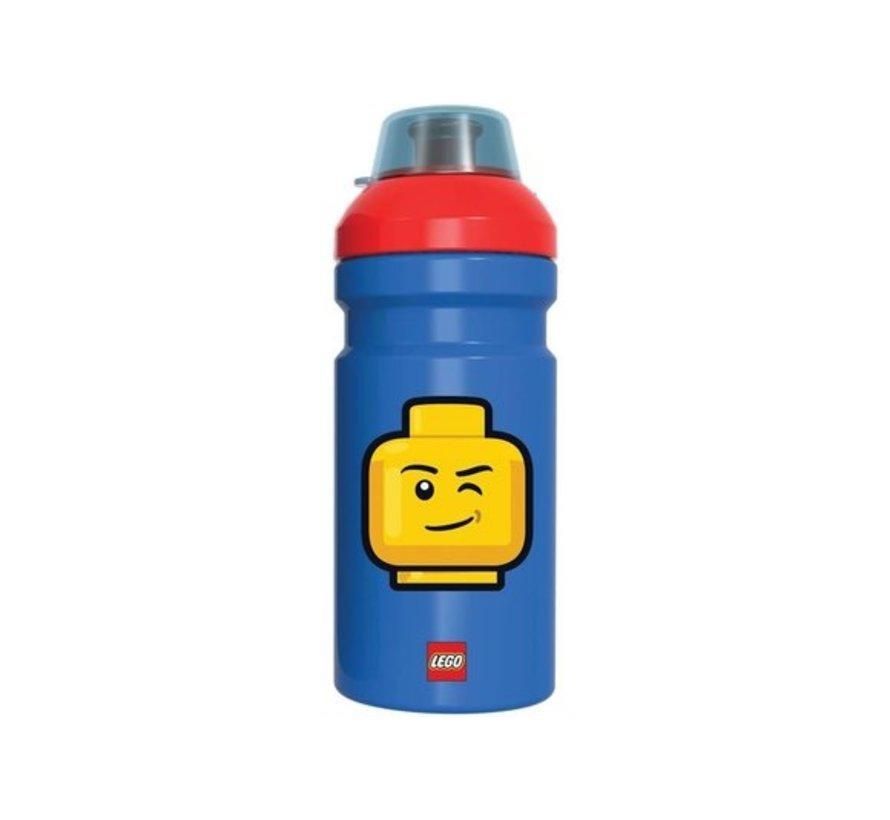 Blauwe LEGO Drinkfles Iconic Classic - 390 ml
