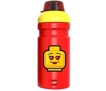 LEGO Rode LEGO Drinkfles Iconic