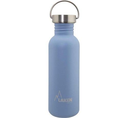 Laken RVS fles Basic Steel Bottle 750ml S/S Cap - Blauw