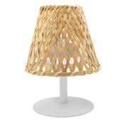 lumisky Lumisky Ibiza  LED tafellamp bamboekap