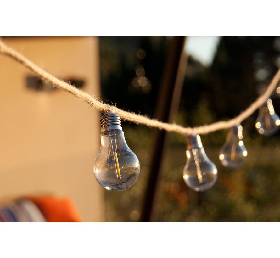 Lumisky Fantasy Cord Tuinverlichting 10 LED lampen 7,5 M