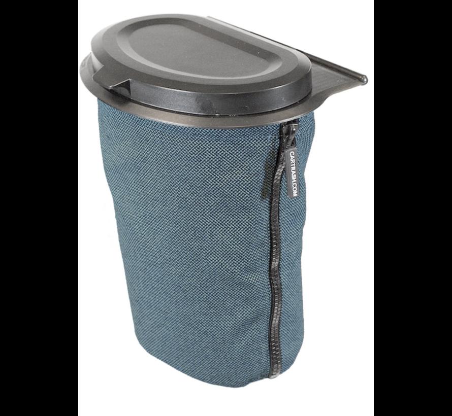 Flextrash Afvalbak 3 liter [S] - Turquoise [incl clips]