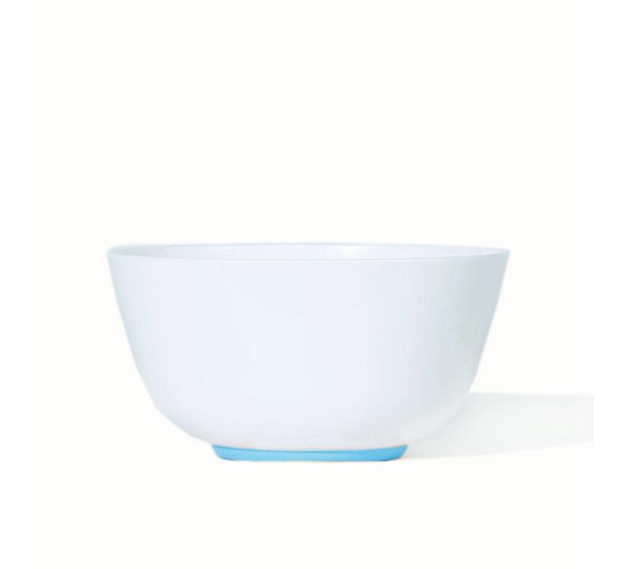 Sorona Palm servies set | 4 Grote Borden | 4 kleine Borden | 4  x 1 pans gerechten kom [12-delig] - Lichtblauw