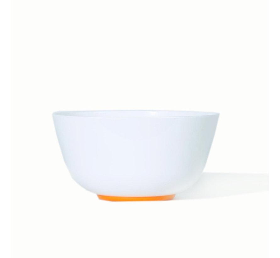 Sorona Palm servies set | 4 Grote Borden | 4 kleine Borden | 4  x 1 pans gerechten kom [12-delig] - Oranje