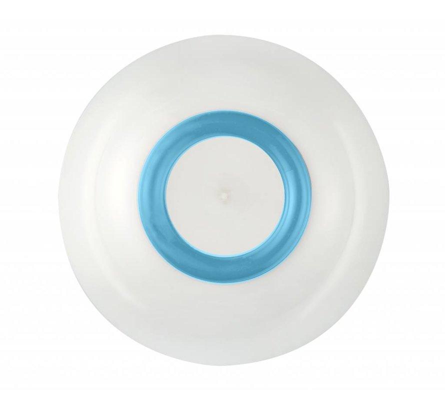 Sorona Palm  Schaaltje Antislip  Lichtblauw [15cm]