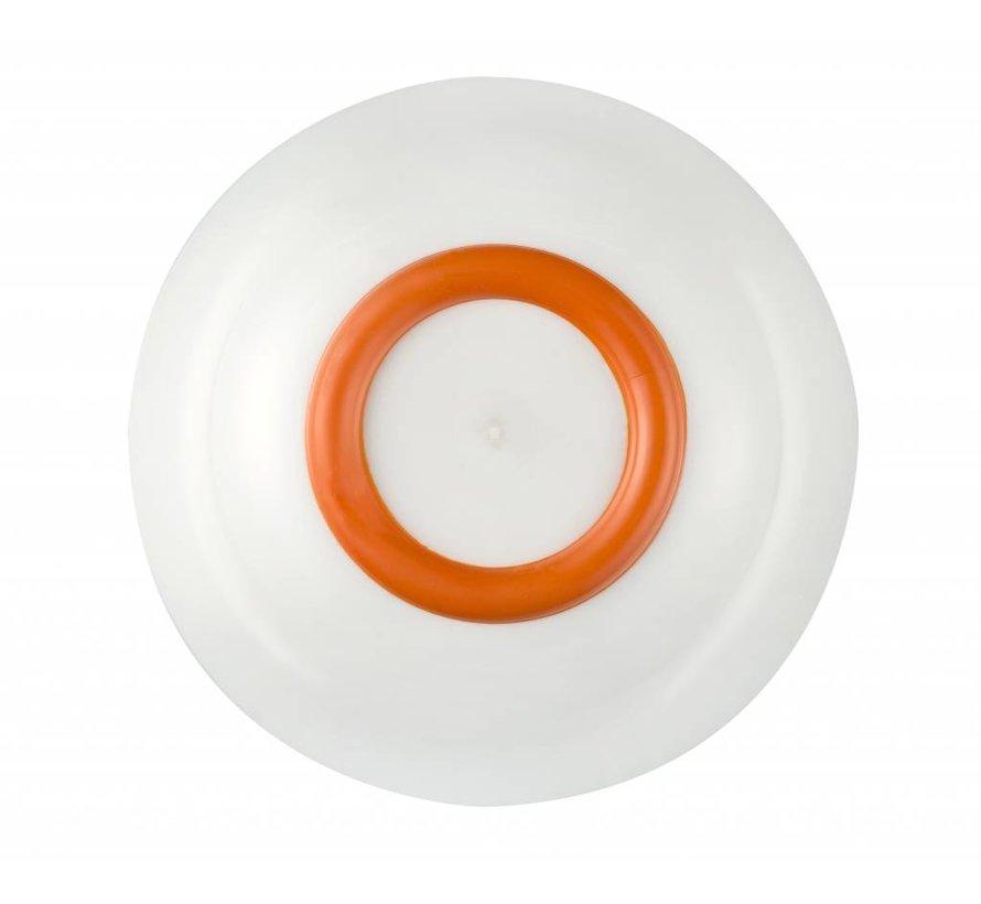Sorona Palm  Schaaltje Antislip  Oranje [15cm]