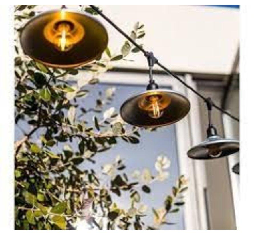 Lumisky Bowl Galva Tuinverlichting 10 LED lampen 6 M
