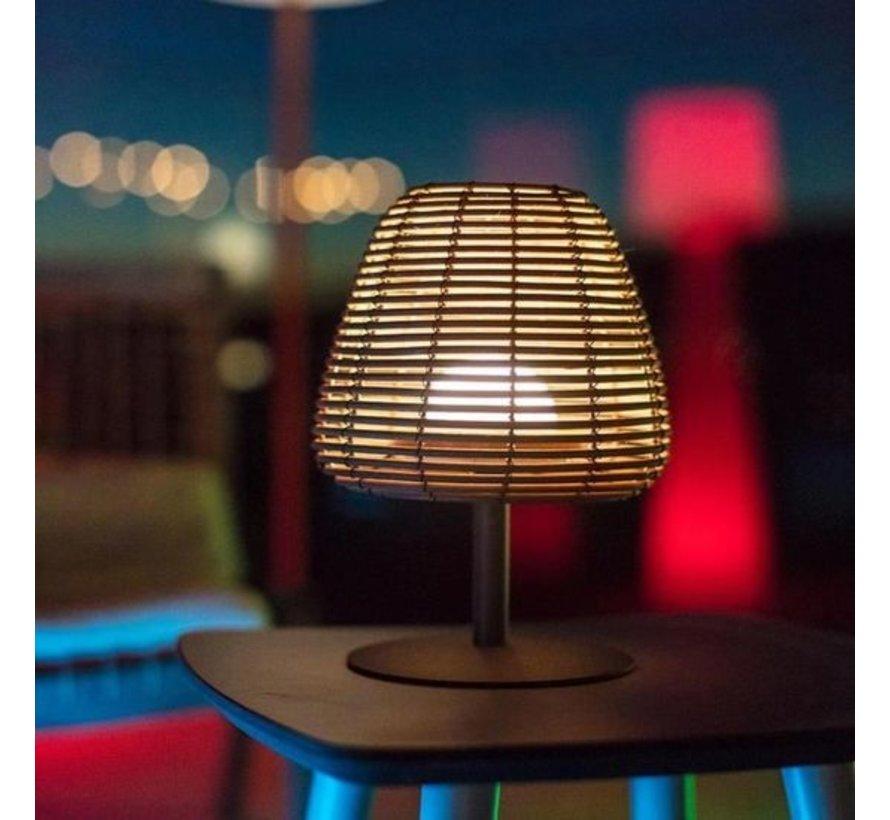 lumisky boheme oplaadbare tafellamp dimbaar LED licht