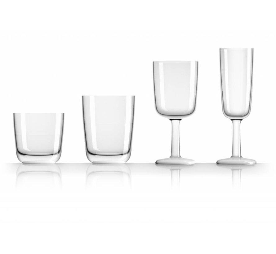 Marc Newson laag glas Transparant  [20cl]