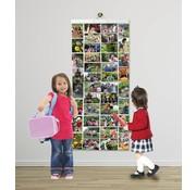Foto-insteekhoezen - 80 foto's in 40 insteekvakken (voor foto's 10 x 15 cm)