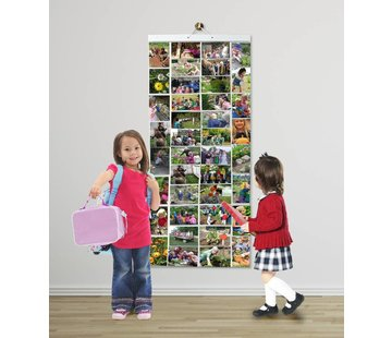 Foto insteekhoes Poster - 80 foto's in 40 insteekvakken [10 x 15cm]