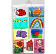 Foto Insteekhoes Poster 18 A4's in 9 insteekvakken