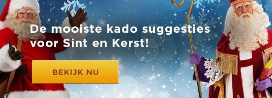 Kado Tips voor Sint en Kerst - Nieuwe Homepage Banner