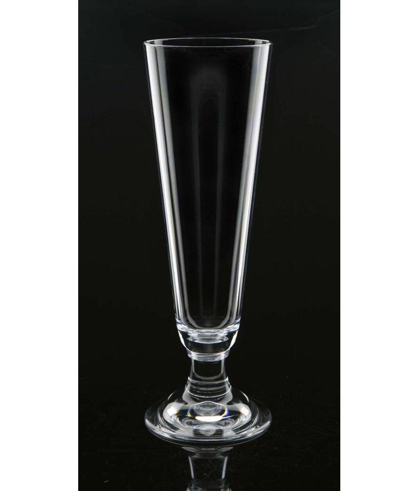 Bierglas op voet STRAHL 5 sterren Onbreekbaar 0.4 ltr. | Da Vinci 20500