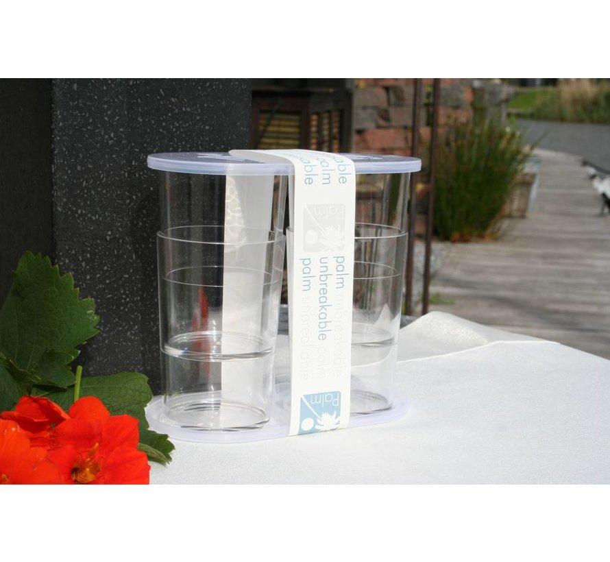 Palm Products Longdrinkglas set van 4 [30 cl]