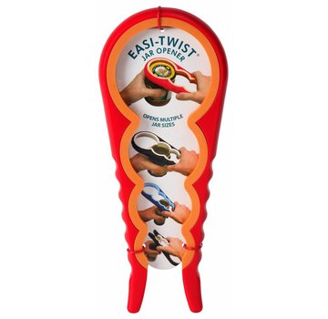 Zeer praktische potopener | flesdop opener Rood / Oranje