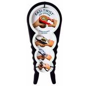 Zeer handige potopener | flesdop opener Zwart / Wit