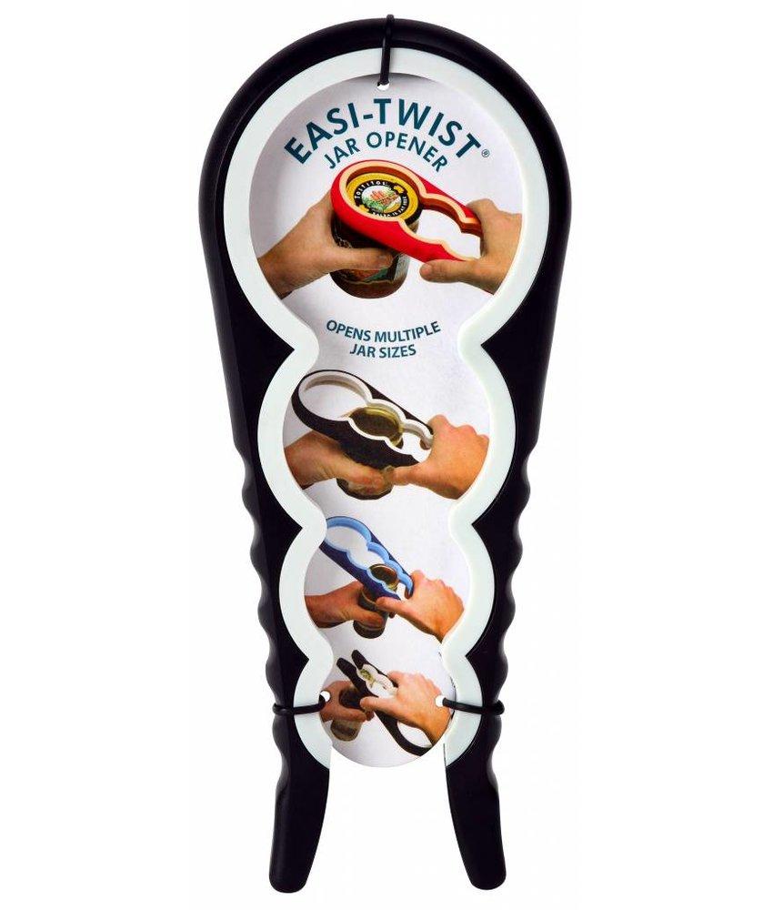 Zeer handige potopener / flesdop opener Zwart / Wit