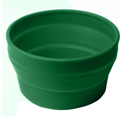 Wacky particals Opvouwbare schaal siliconen  Groen