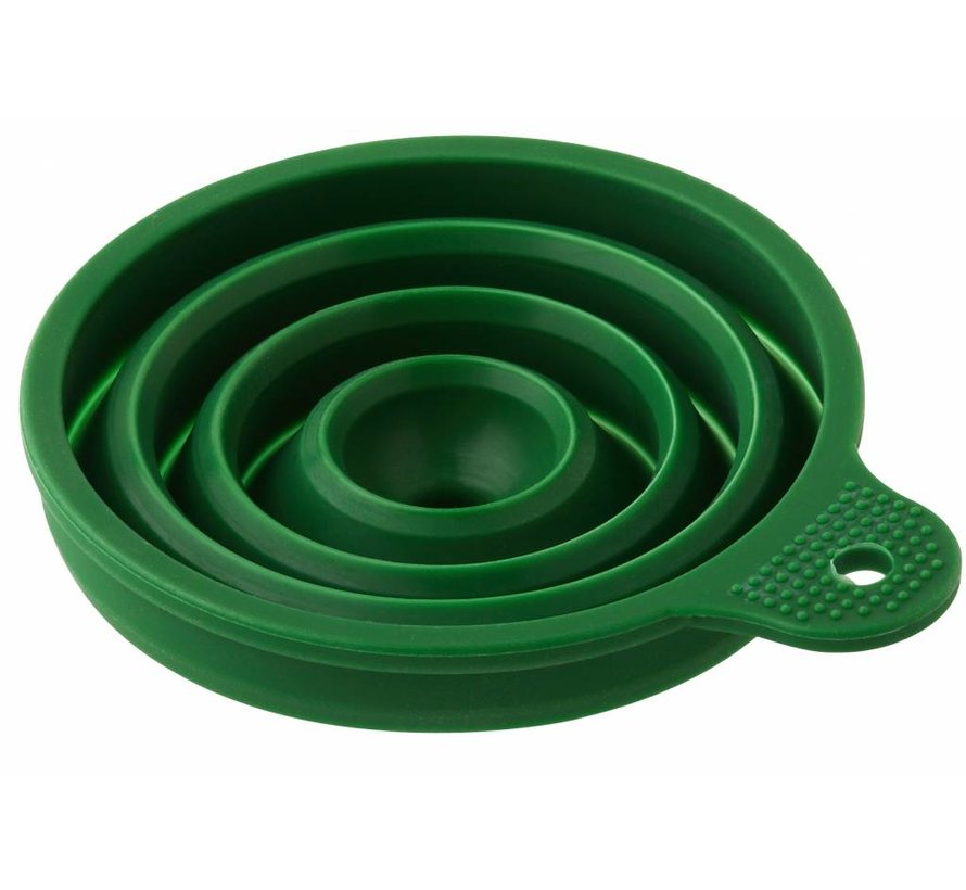 Opvouwbare Trechter siliconen - Groen