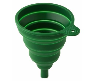 Wacky particals Opvouwbare Trechter siliconen - Groen