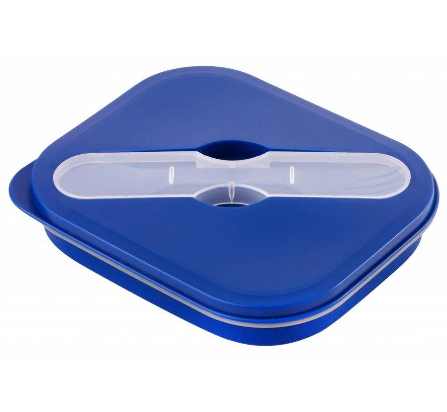 Opvouwbare Lunchbox Small Duurzaam  Navy  Blauw