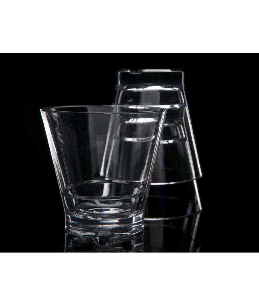 Stapelbaar onbreekbaar glas | Luxe | Strahl 0.35 ltr. Laag Capellastack