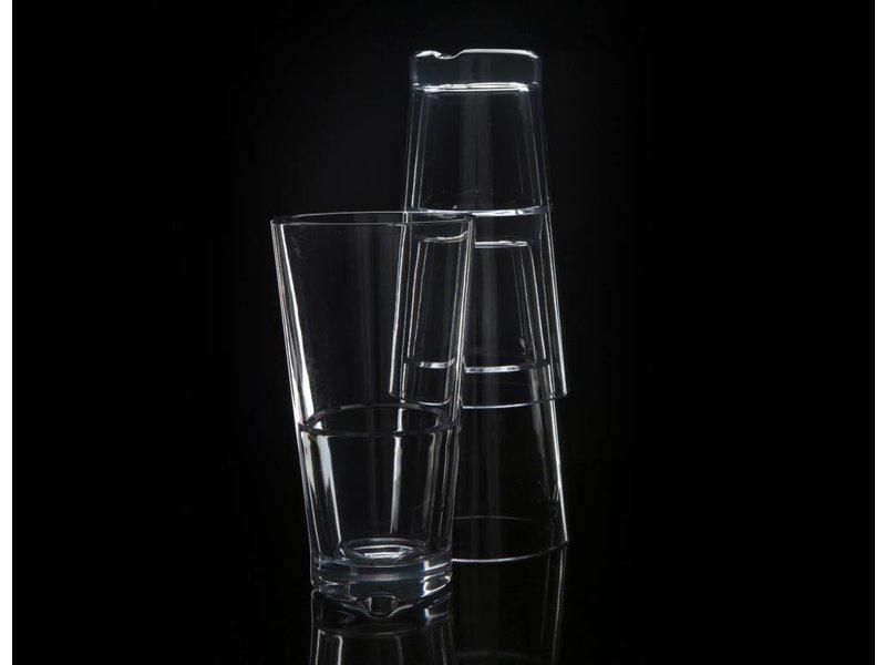 Stapelbaar onbreekbaar glas | Luxe | Strahl 0.41 ltr. Hoog Capellastack