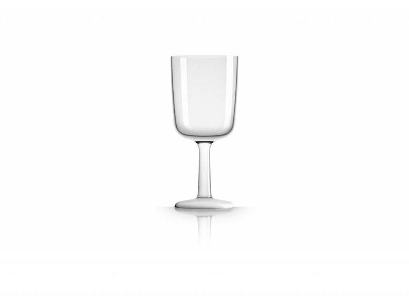 Wijnglas onbreekbaar Marc Newson Witte voet antislip