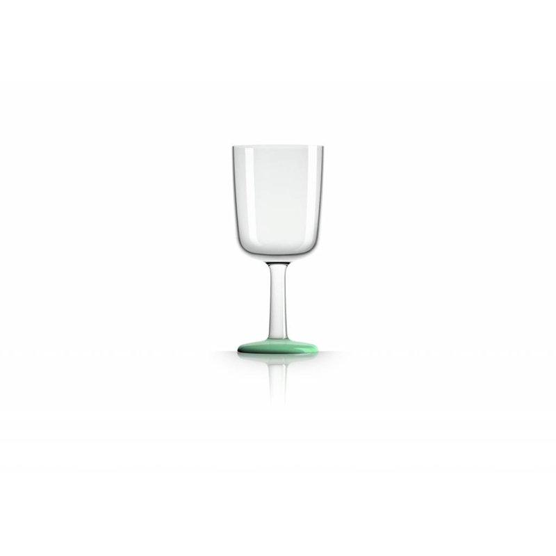 Wijnglas Onbreekbaar Marc Newson Glow in the Dark voet antislip - TRITAN